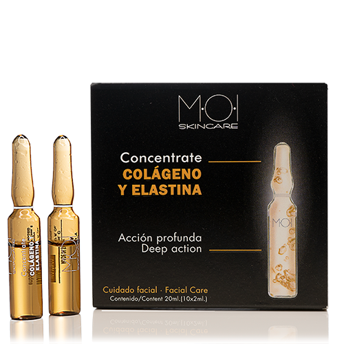 Colágeno y Elastina Concentrate - Faciales -10 Ampollas 2 ml