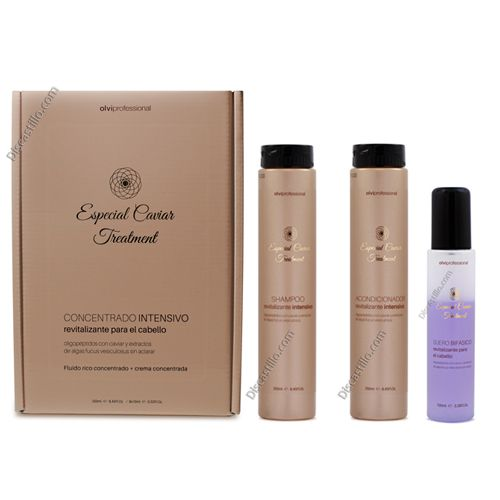 Oferta con Champú 250 ml,Tratamiento Completo Especial Caviar Treatment
