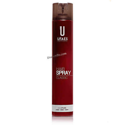 Ufaes Laca Spray Professional  Fijación Extrafuerte Punk 750 ml.