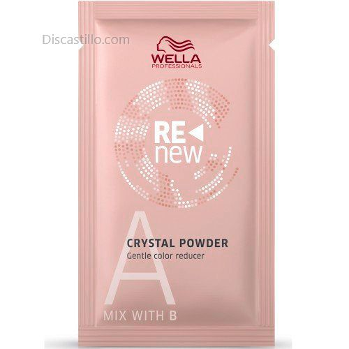 Wella  Color Renew Crystal Powder A - Sobre 9g