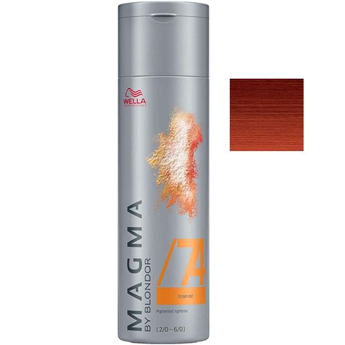 Wella Magma /74 Red Chestnut - Tono Cálido 120 Gr.